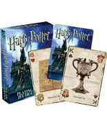 Harry Potter Deck Playing Cards Hogwarts 52 Poker Sized Rowling Movie Book - $8.68