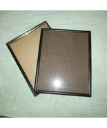 FRAMES black 2 lg approx 15 x 12 see description (Nclst B) - $11.30