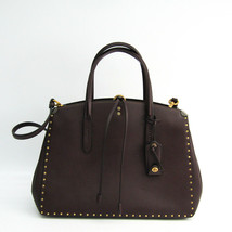 Coach Cooper Carryall With Rivets Oxblood/Brass 31932 Oxblood  NWT - $596.68 CAD