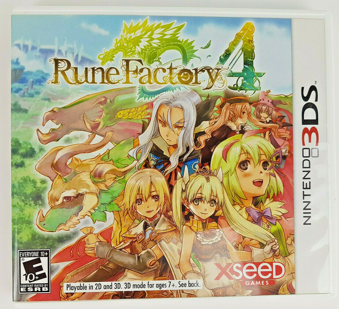 Primary image for Rune Factory 4 (Nintendo 3DS, 2013) CIB Fantasy RPG COMPLETE Anime Role Playing