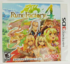 Rune Factory 4 (Nintendo 3DS, 2013) CIB Fantasy RPG COMPLETE Anime Role ... - $22.37