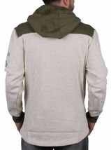 Staple Oatmeal Heather Delta Airforce Good Luck Hoodie NWT image 3