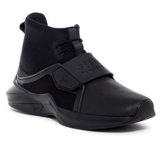 New in Box -  FENTY PUMA by Rihanna Black Hi Trainer Sneaker Size 8.5 - $64.34