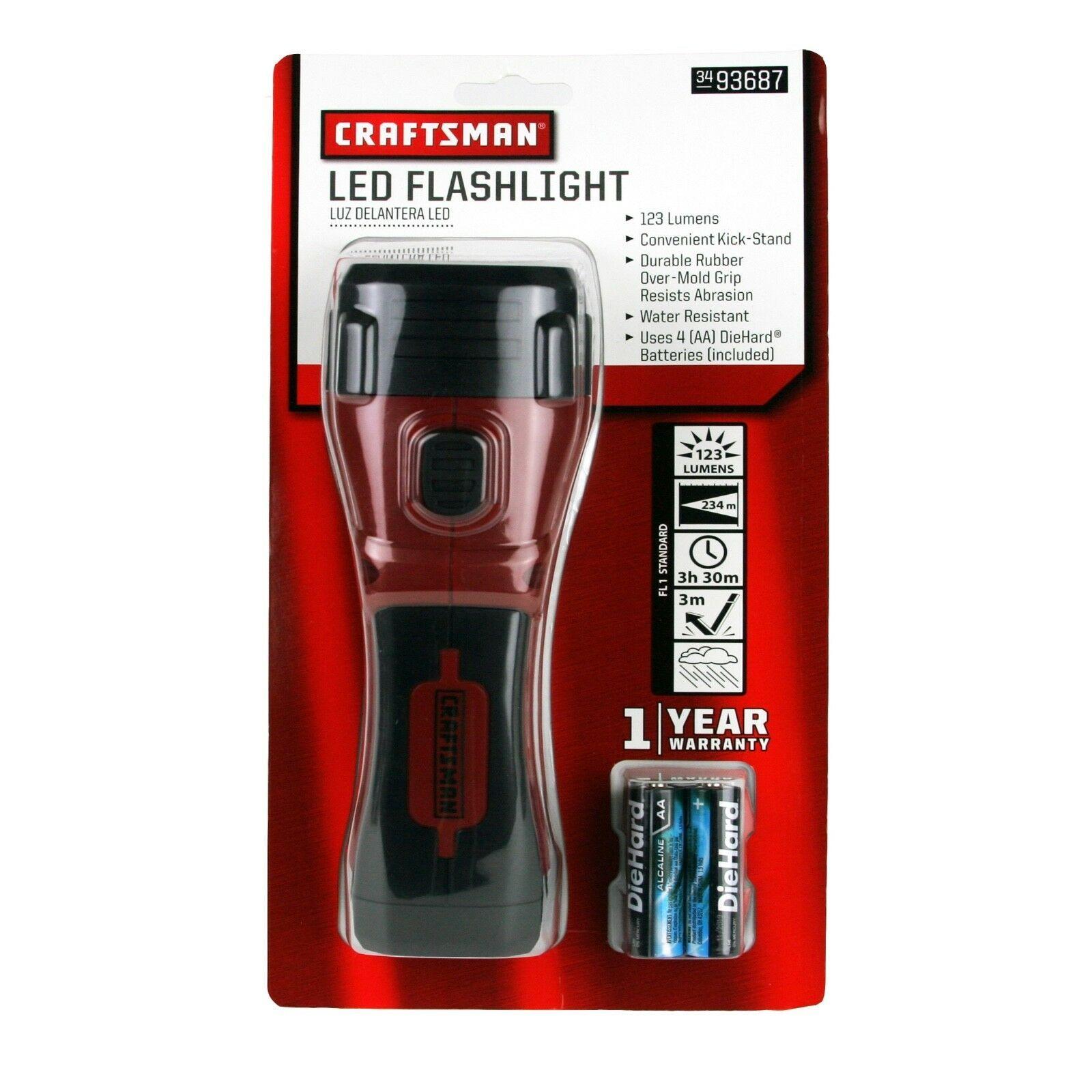 Craftsman 4AA LED Flashlight - $25.99
