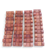 Lincoln Logs Lot of 40 Small One Notch on Both Sides Wooden Building Toys - $8.50