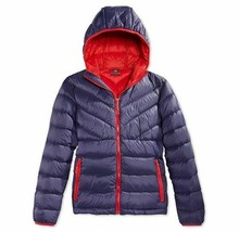 Weatherproof 32 Degrees Boys Youth Packable Down Jacket Insignia Blue Si... - $42.57