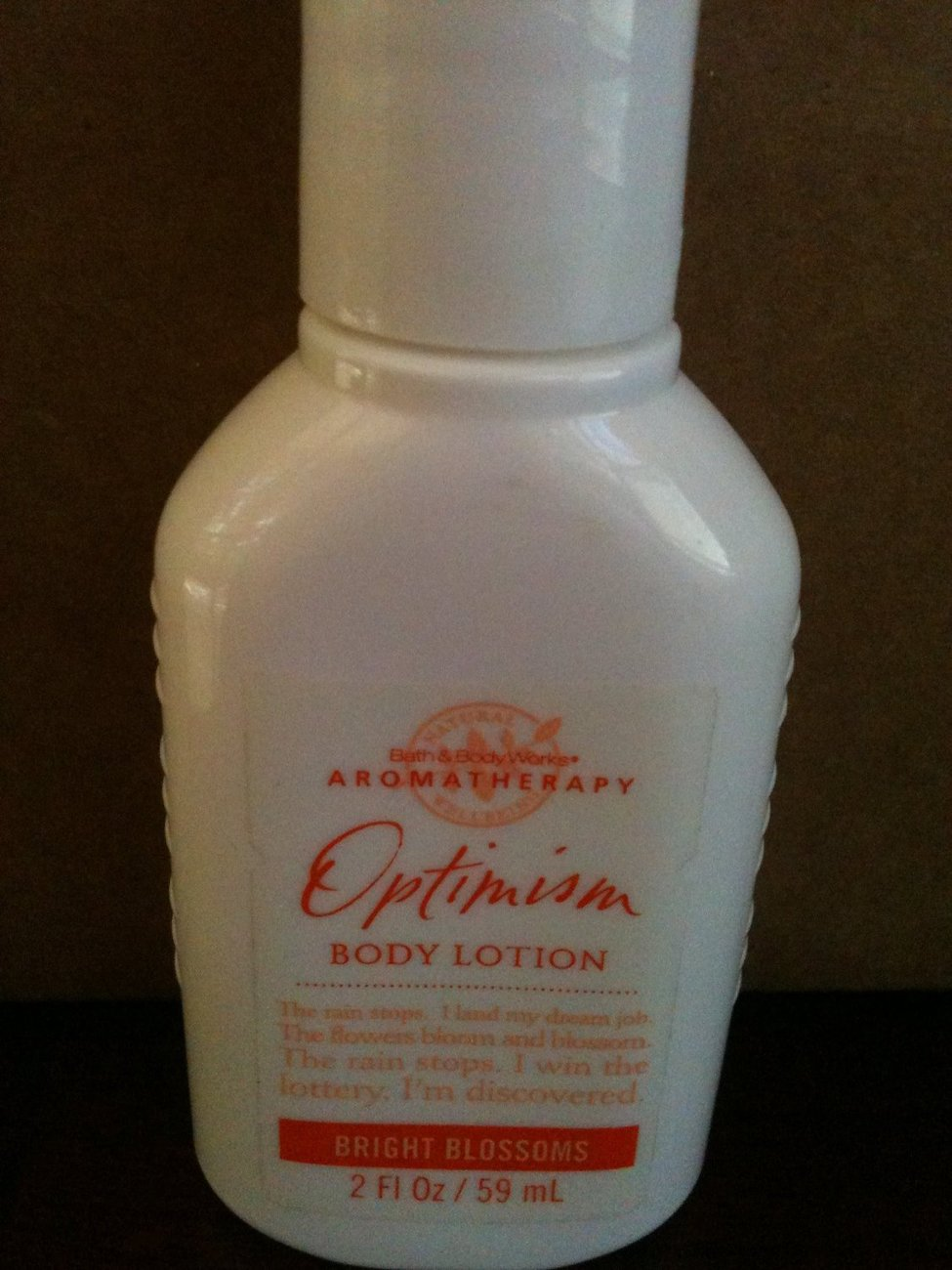 Bath & Body Works Aromatherapy OPTIMISM BRIGHT BLOSSOMS Body Lotion 2 fl oz / 59