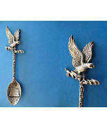 USA AIR FORCE ACADEMY Souvenir Collector Spoon PEWTER GISH Eagle Collect... - $6.95