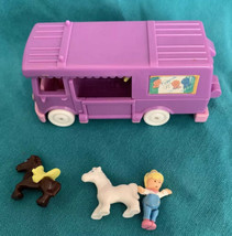 Vintage 1994 Polly Pocket Bluebird Stable on the Go Horse Pony - Complete - $29.69
