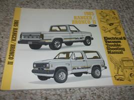 1985 ford bronco II truck electric wiring diagrams workshop service repair - $23.21