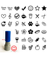 Loyalty card Self inking Rubber Stamp for business SHOP SALON CAFE RESTA... - $4.99