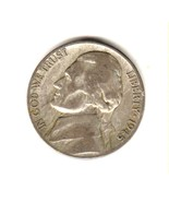 HOLIDAY SPECIAL  1945-S  SILVER  JEFFERSON WAR NICKEL-GOOD CONDITION--35... - ₹69.69 INR