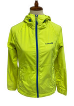 Avalanche Weather Shield Hooded Lightweight Jacket Sz S Neon Yellow  - $14.84