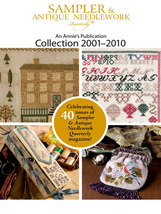 The Sampler & Antique Needlework Quartlery 2001-2010 Collection DVD - $53.95