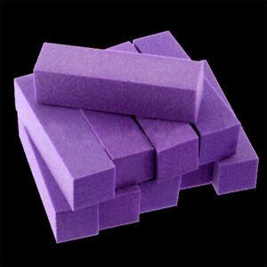 10Pcs Buffing Buffer Block Files Pedicure Sanding Polish Manicure Nail Art Tips