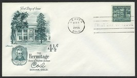 #1059 4 1/2c The Hermitage, Artmaster-Addressed FDC **ANY 4=FREE SHIPPING** - $1.25