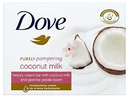 Dove Purely Pampering Coconut Milk, with Jasmine Petals Scent Beauty Bar... - $16.75