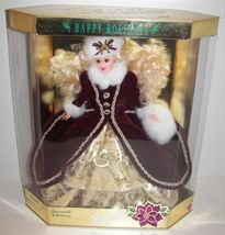 1996 Happy Holidays Special Edition Barbie - MIB - $39.99