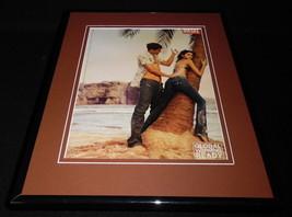 2007 Diesel Jeans Framed 11x14 ORIGINAL Vintage Advertisement - $32.36