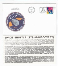 STS-82 DISCOVERY KENNEDY SPACE CENTER, FL FEBRUARY 21 1997 WITH INSERT CARD - $1.78