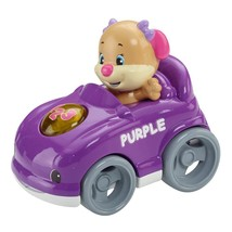 Fisher Price Laugh & Learn Smart Speedsters Purple Sis - CHX45 - New - $17.34