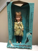 Elite Creations Doll Miss Vicki in black pants and yellow satin wrap robe - $44.55