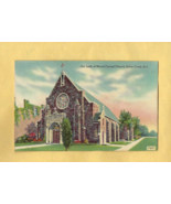 Vintage Color Post Card,  OUR LADY OF MOUNT CARMEL CHURCH, Silver Creek,... - $6.50