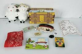 Hallmark Really Wooly Dayspring Stuffed Plush Sheep Lamb Grace Jacob Pirate - $69.29