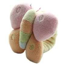 Baby Stuffed Animals Infant Toys Toddler Plush Toys Butterfly with Wrist Band image 3