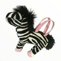 Gymboree Vintage Zebra Plush Purse - $19.20