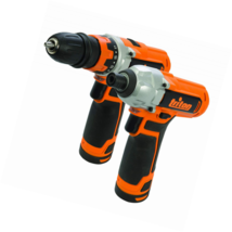 Triton T12TP Twin Pack with T12DD Drill and T12ID Impact Driver - $87.22