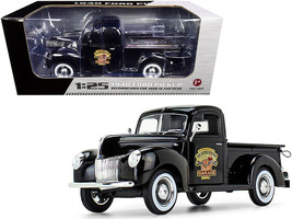 1940 Ford Pickup Truck Black The Busted Knuckle Garage 1/25 Diecast Model Car by - $69.99