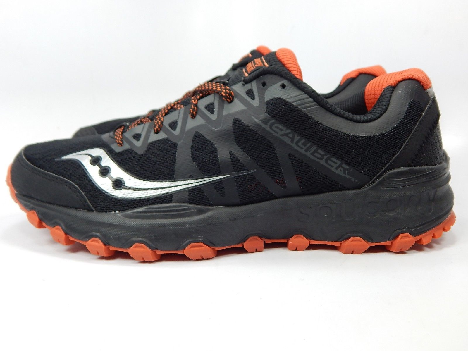 Saucony Caliber TR Men's Trail Running Shoes Size 9 M (D) EU 42.5 Black S25326-3