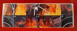 Vintage Star Wars Empire Strikes Autocollants Super Scène Collection Coc... - $24.75