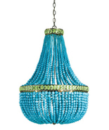 CURREY & CO COMPANY Hedy 4 Light Chandelier #9770, Marjorie Skouras, Tur... - $4,740.00