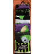 BEETLEJUICE 5 Pack Fun Crew Socks Sz 8-12 Age 14+ Unisex Bioworld - $24.75