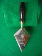 Vintage Masonic Lodge No. 24 Coeur d'Alene ID Metal Award Trowel - $22.23