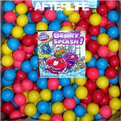 "100 Berry Splash 1"" bulk Food vending machine Retro Candy Gumballs Fresh New"