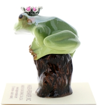 Hagen-Renaker Miniature Tree Frog Figurine Birthstone Prince 07 July Ruby image 4