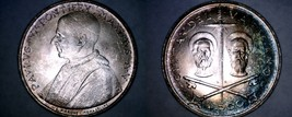 1967 Vatican City 500 Lire World Silver Coin - Catholic Church Italy - $49.99