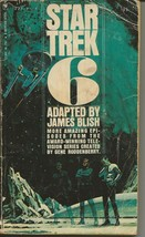 Star Trek 6 3rd Print ORIGINAL Vintage 1972 Paperback Book James Blish - $9.89