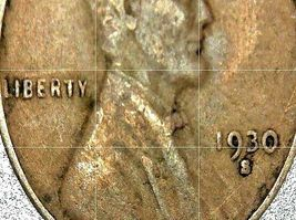 Lincoln Wheat Penny 1930 P,  1930 D, 1930 S AA20-CNP2165 Antique image 3