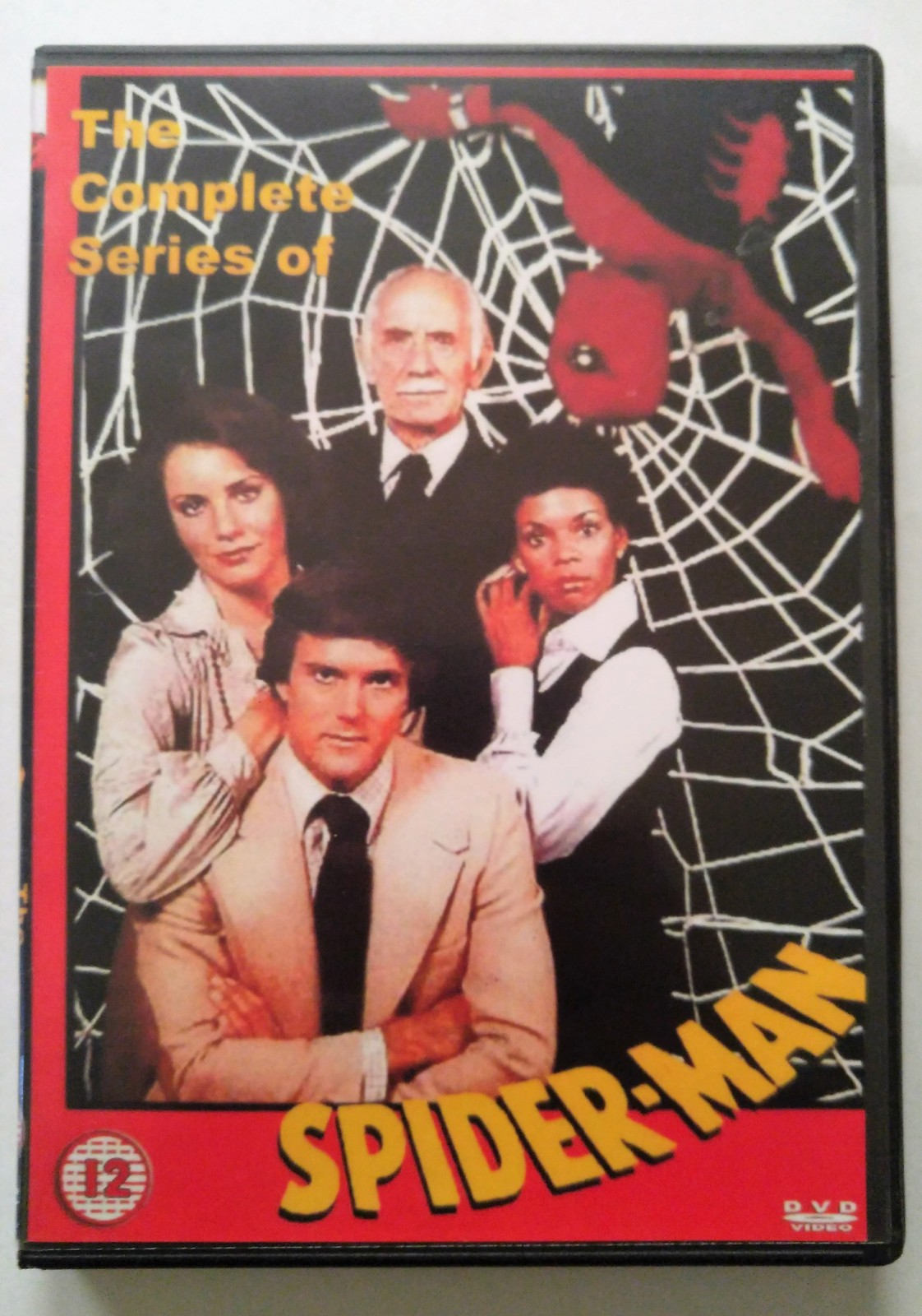 Primary image for 1977 Spiderman Complete Live Action TV Series on 4 DVDs