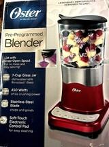Oster BLSTDG-R00-000 Pre-Programmed Blender - Metallic Red - $54.44