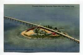 Overseas Highway Spanning Pigeon Key and Fishing Camp Florida - $1.99