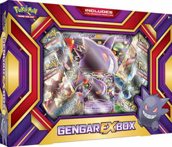 Gengar EX Collection Box Sealed POKEMON TCG Cards 4 Booster Packs Evolut... - $23.99