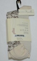 Simply Noelle Cream And Chocolate Crew Sock One Size Fits Most image 2
