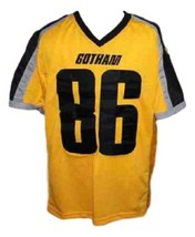 Hines Ward #86 Gotham Rogues The Dark Knight Men Football Jersey Yellow Any Size image 4