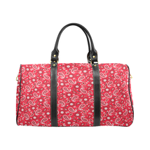 Red Rag Pattern Luxury Travel Bag Gym Bag Spring Summer '19  - $129.97
