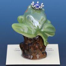 Birthstone Tree Frog Prince June Elexandrite Miniatures by Hagen-Renaker image 3